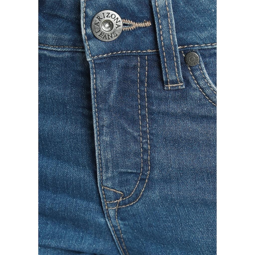 Arizona Slim-fit-Jeans, mit modischen Nahtverläufen auf der Front - NEUE KOLLEKTION