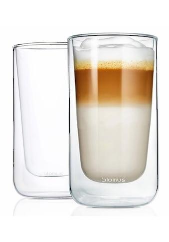 BLOMUS Thermoglas »NERO«, (Set, 2 tlg.), Doppelwandig, Inhalt 320 ml, 2-teilig kaufen