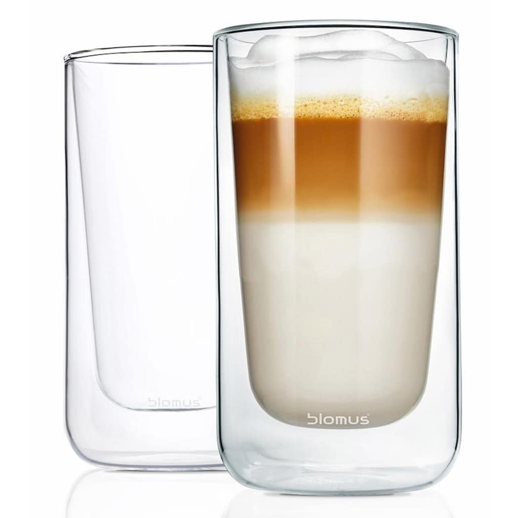 BLOMUS Thermoglas »NERO«, (Set, 2 tlg.), Doppelwandig, Inhalt 320 ml, 2-teilig