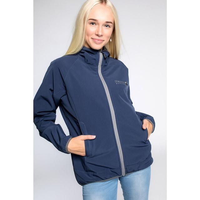 DEPROC Active Softshelljacke »Carleton Peak Women«, auch in Großen Größen erhältlich