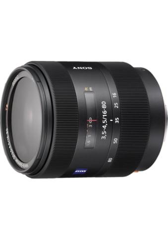 Sony Objektiv »Zoomobjektiv 16 - 80 mm F3.5 - 4.5« kaufen