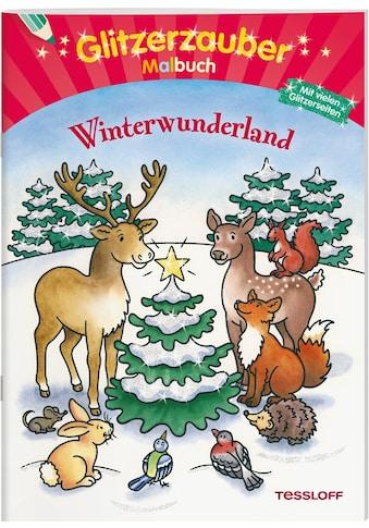 Buch »Glitzerzauber Malbuch Winterwunderland / Marion Durczok« kaufen