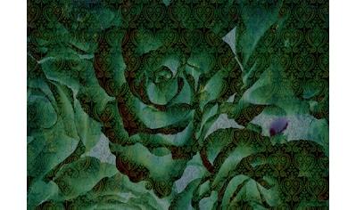 CONSALNET Vliestapete »Abstrakte Pflanze«, in verschiedenen Größen kaufen