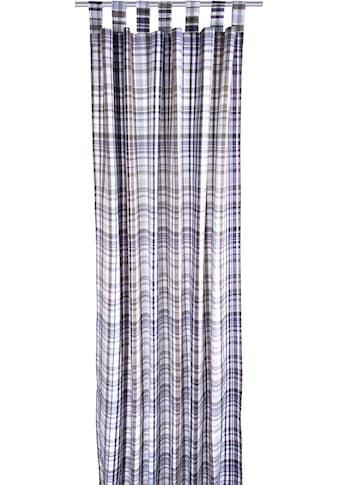 TOM TAILOR Vorhang »Fine Check«, HxB: 255x135 kaufen