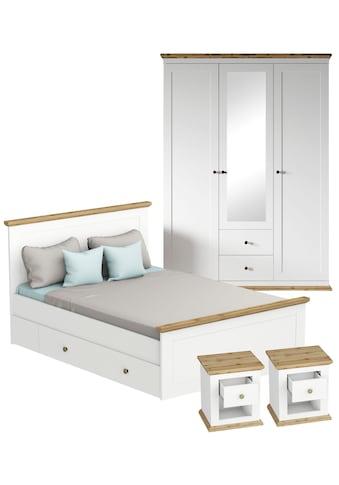 Home affaire Schlafzimmer-Set »Banburry«, (Set, 4 St.), 4-teilig kaufen