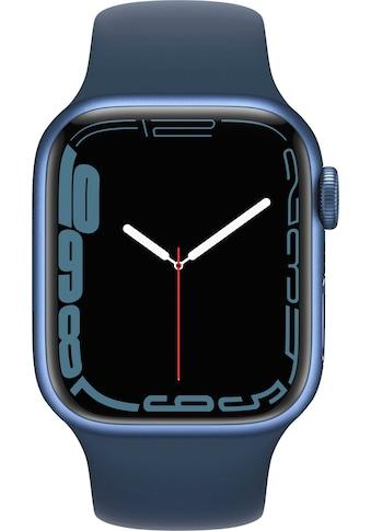 Apple Smartwatch »Series 7, GPS, Aluminium-Gehäuse, 41mm«, (Watch OS 8) kaufen
