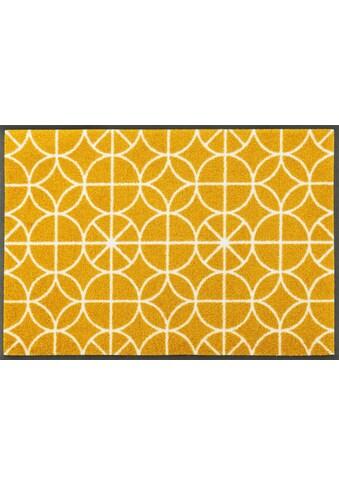 wash+dry by Kleen-Tex Fußmatte »Henrietta«, rechteckig, 7 mm Höhe, Schmutzfangmatte kaufen