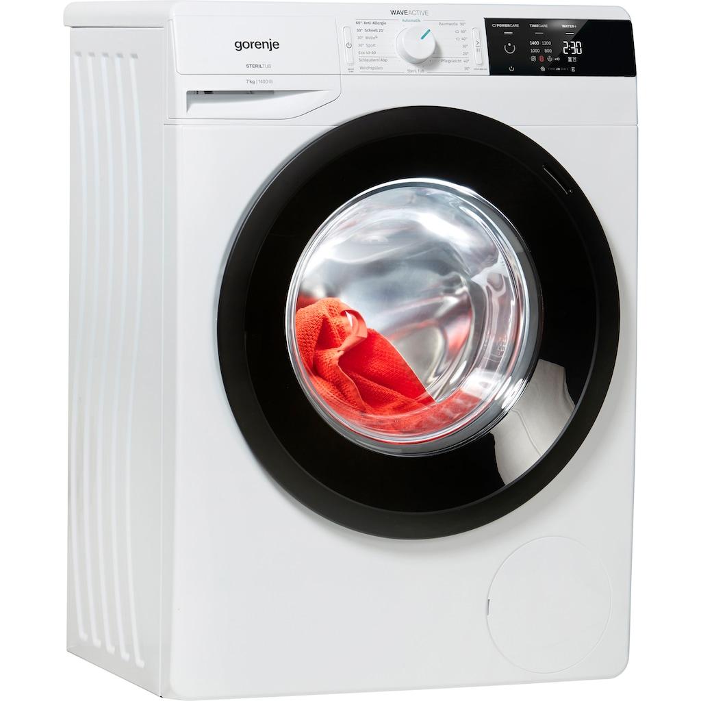 GORENJE Waschmaschine »Wave E 74S3 P«, Wave E74S3P, 7 kg, 1400 U/min