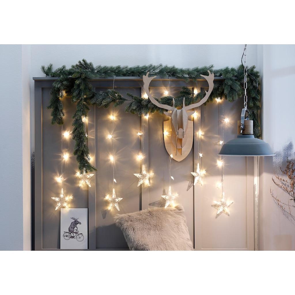 BONETTI LED-Lichtervorhang »Sterne«, mit 7 Strängen
