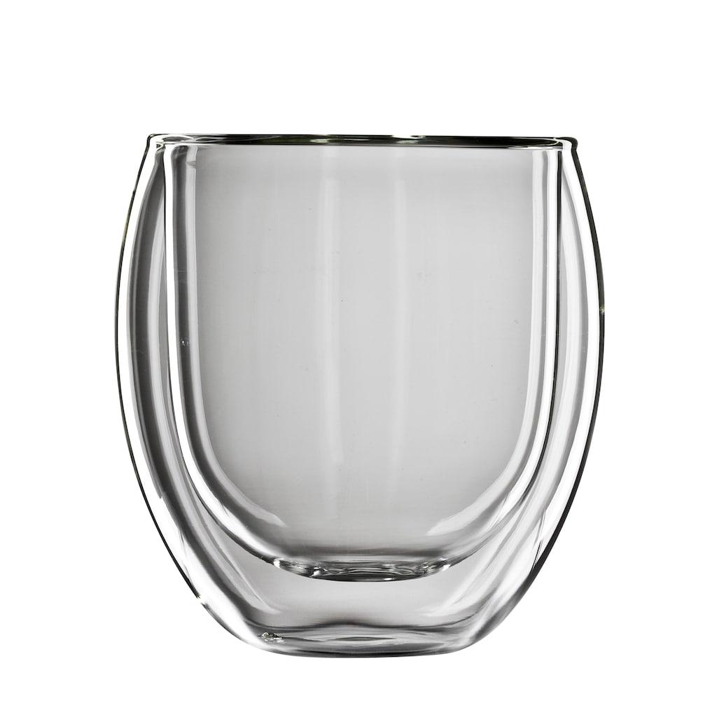 Bloomix Thermoglas »Tunis«, (Set, 4 tlg.), 4-teilig