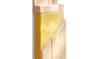 KARIBU Sauna »Bossidy«, 196x196x198 cm, in versch. Ausführungen kaufen
