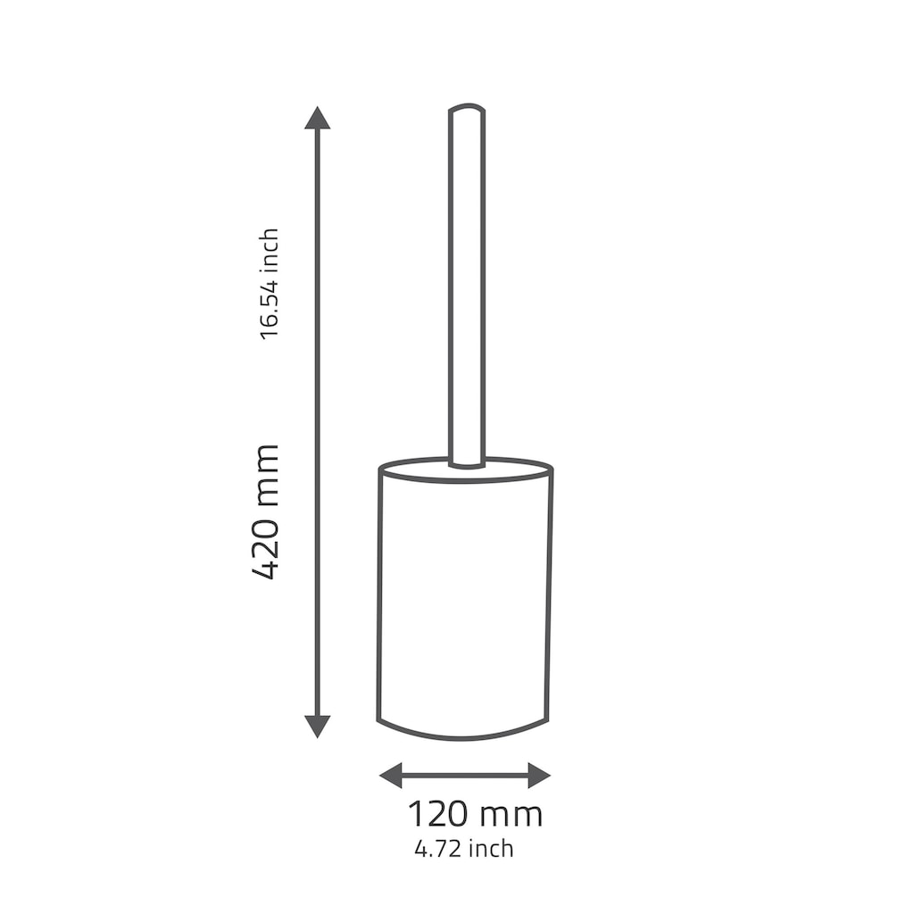 Ridder WC-Garnitur »Tower«, UV-beständig