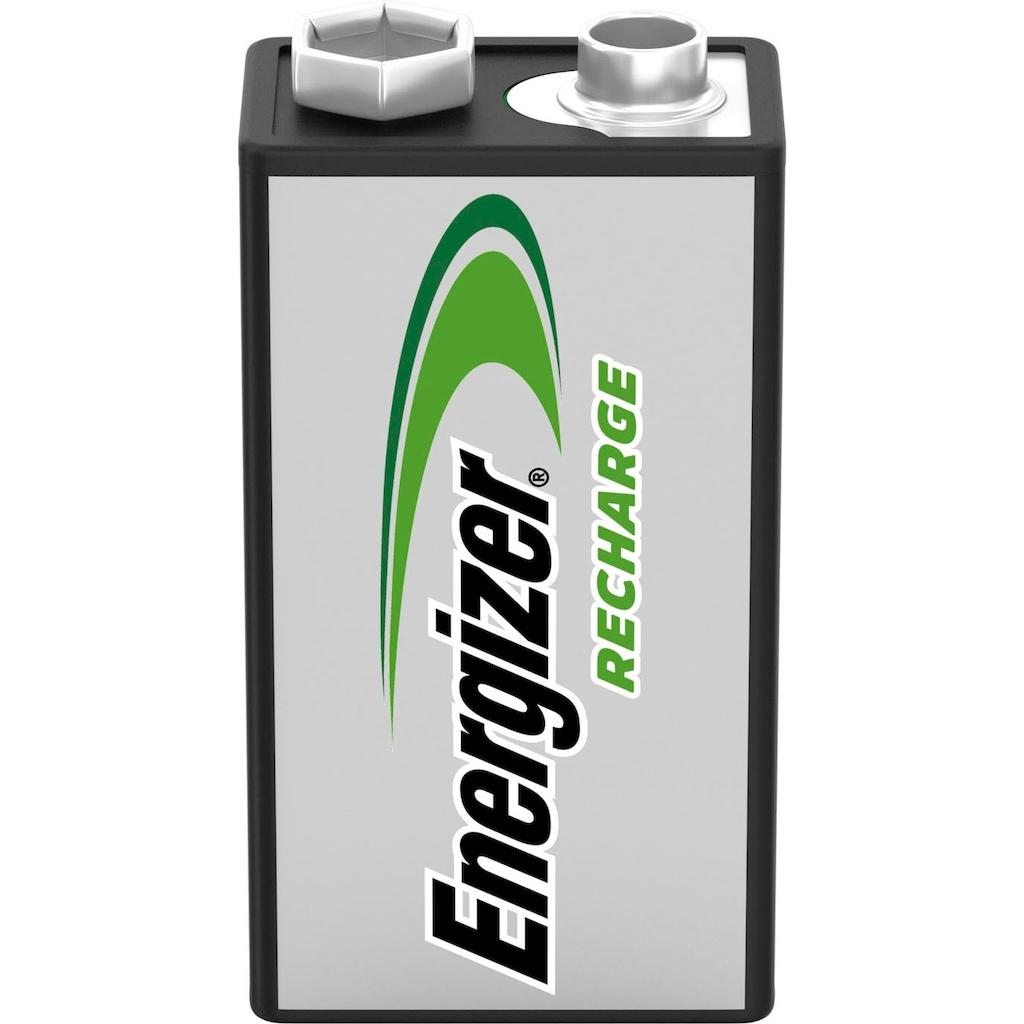 Energizer Akku »NiMH Power Plus, E-Block (9V), 175 mAh 1 Stück«, Block