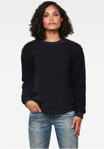 G-Star RAW Sweatshirt »Carley«, in kuscheliger Optik kaufen