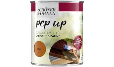 SCHÖNER WOHNEN-Kollektion Lasur »pep up Outdoor«, für Carports & Zäune, bis zu 6 Jahre... kaufen
