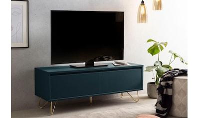 SalesFever Lowboard, mit Hairpin Beinen, modernes TV-Board, Fernsehschrank mit... kaufen
