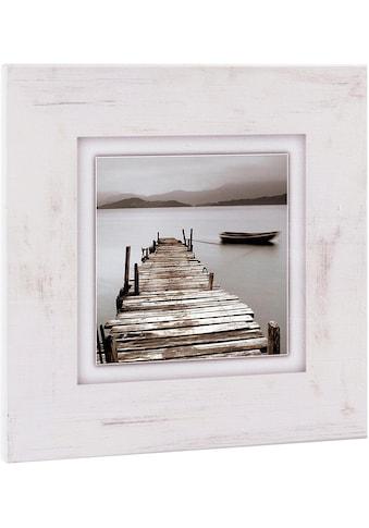 Home affaire Holzbild »Steg«, 40/40 cm kaufen