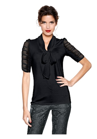 Creation L Shirt mit Schluppe am Ausschnitt kaufen