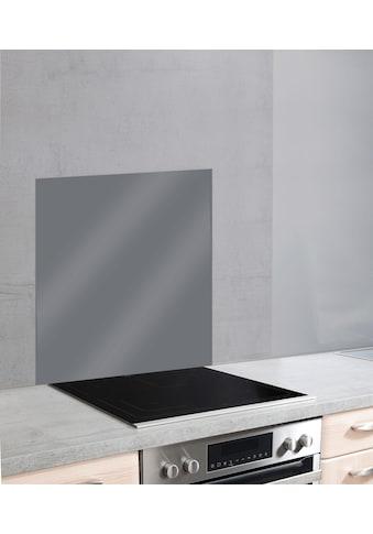 WENKO Küchenrückwand »Unifarben«, unifarbene Glasrückwand kaufen