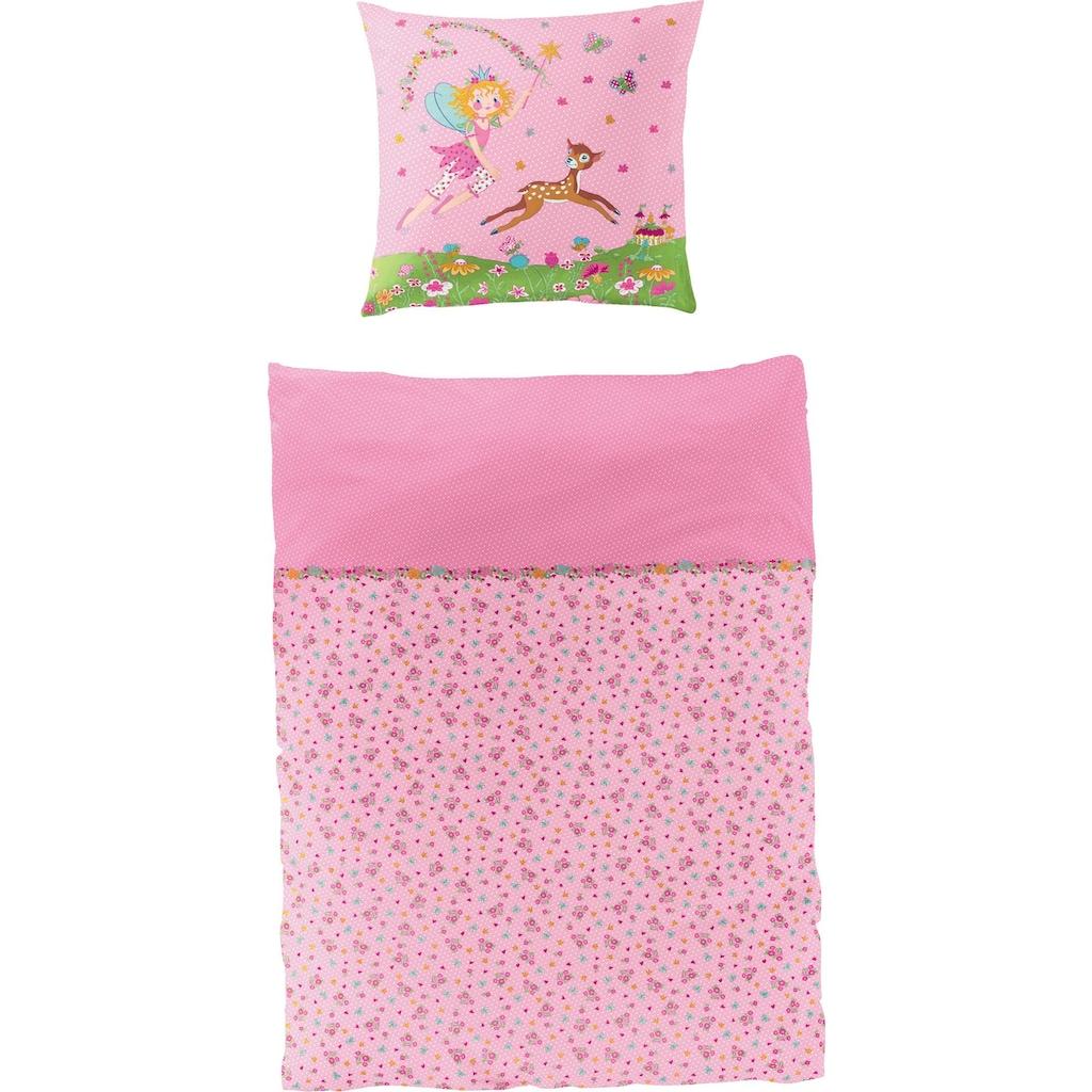 Prinzessin Lillifee Kinderbettwäsche »Reh«, mit Blumen