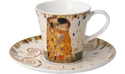 Goebel Becher »Der Kuss«, von Gustav Klimt kaufen