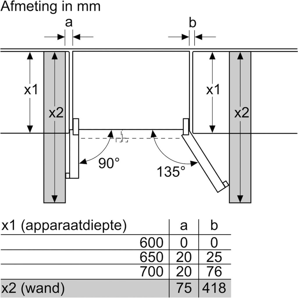 SIEMENS Side-by-Side »KA93NVIFP«, iQ300