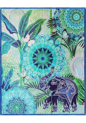 hip Plaid »Isara«, mit Mandalas und Elefant kaufen