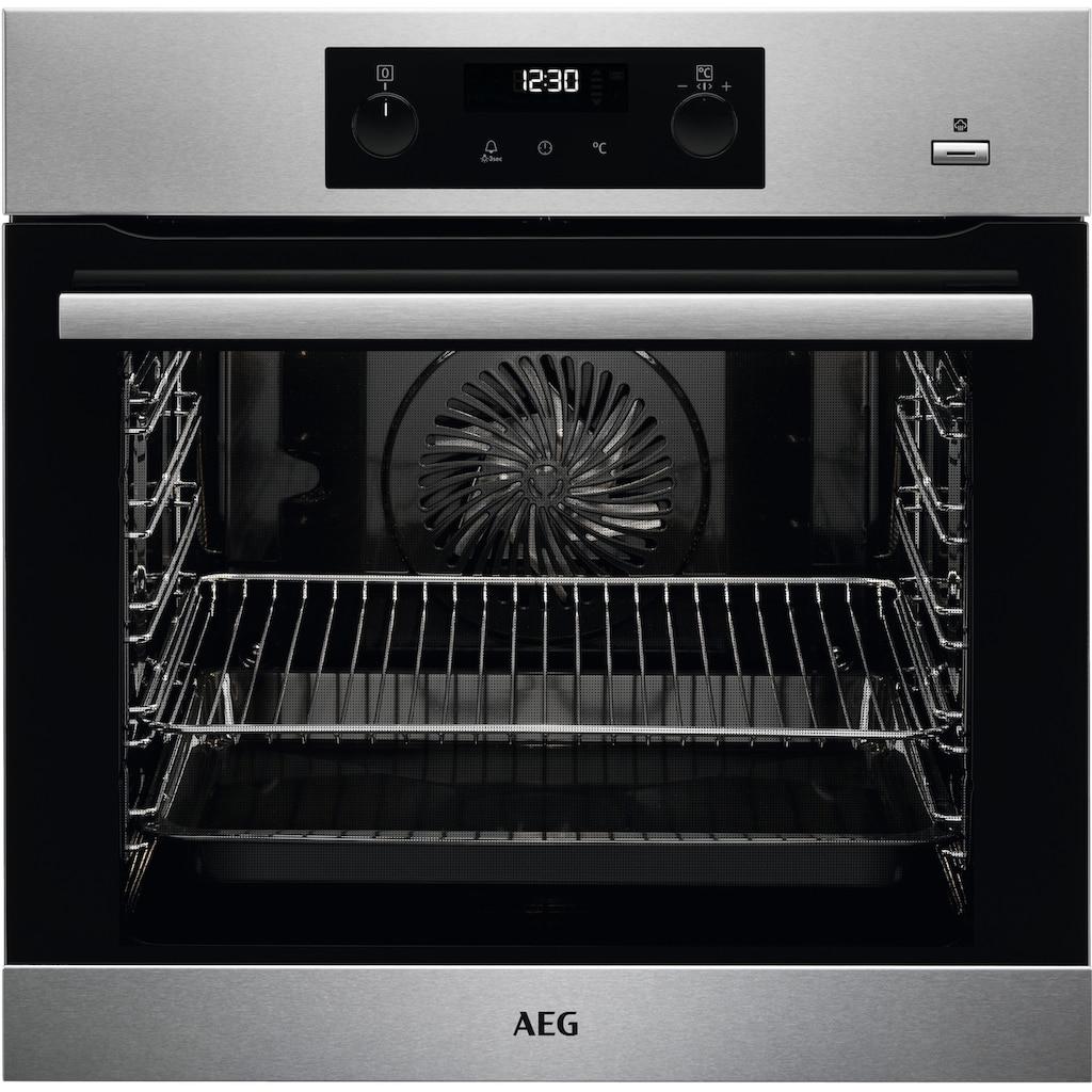 AEG Einbaubackofen »BPB355020M«, BPB355020M, SteamBake – Feuchtigkeitszugabe