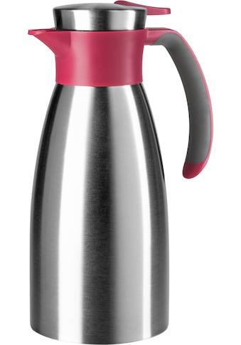 Emsa Isolierkanne »Soft Grip«, 1 l, hält 12 Stunden heiß und 24 Stunden kalt, 100 %... kaufen