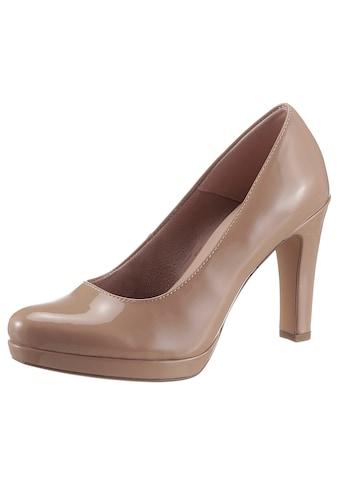 Tamaris High-Heel-Pumps, in glänzender Optik kaufen