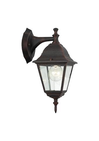 Brilliant Leuchten Außen-Wandleuchte, E27, Newport Außenwandleuchte hängend rostfarbend kaufen