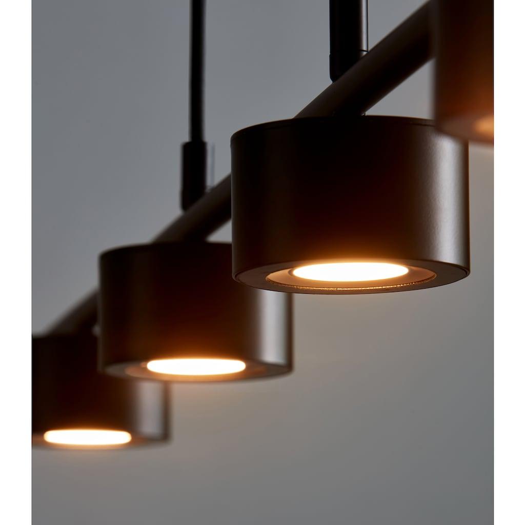 Nordlux LED Pendelleuchte »CLYDE«, LED-Modul, Warmweiß, Hängeleuchte, inkl. LED, inkl. Dimmer für Stimmungslicht, 5 Jahre LED Garantie