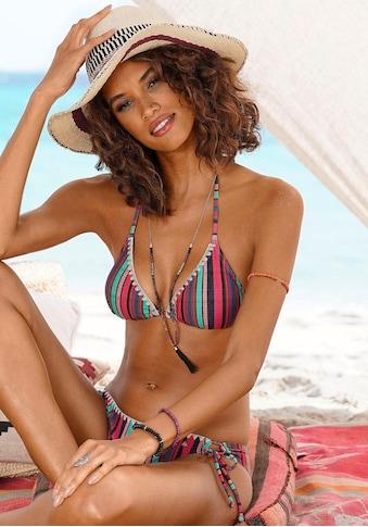 s.Oliver Triangel-Bikini, mit sommerlichem Streifendesign kaufen