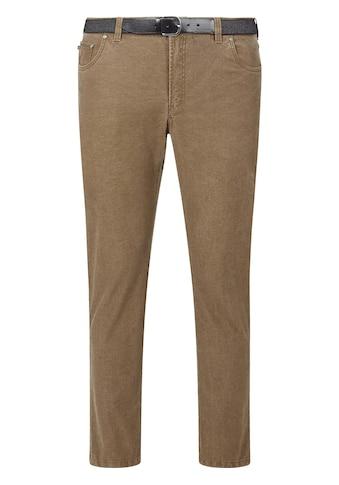 Charles Colby 5-Pocket-Hose »BARON DAIMEON«, Tiefbundhose mit Stretchgürtel kaufen