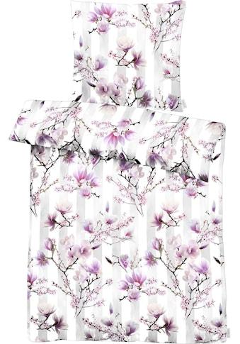 APELT Bettwäsche »Magnolia«, mit Magnolienblüten kaufen