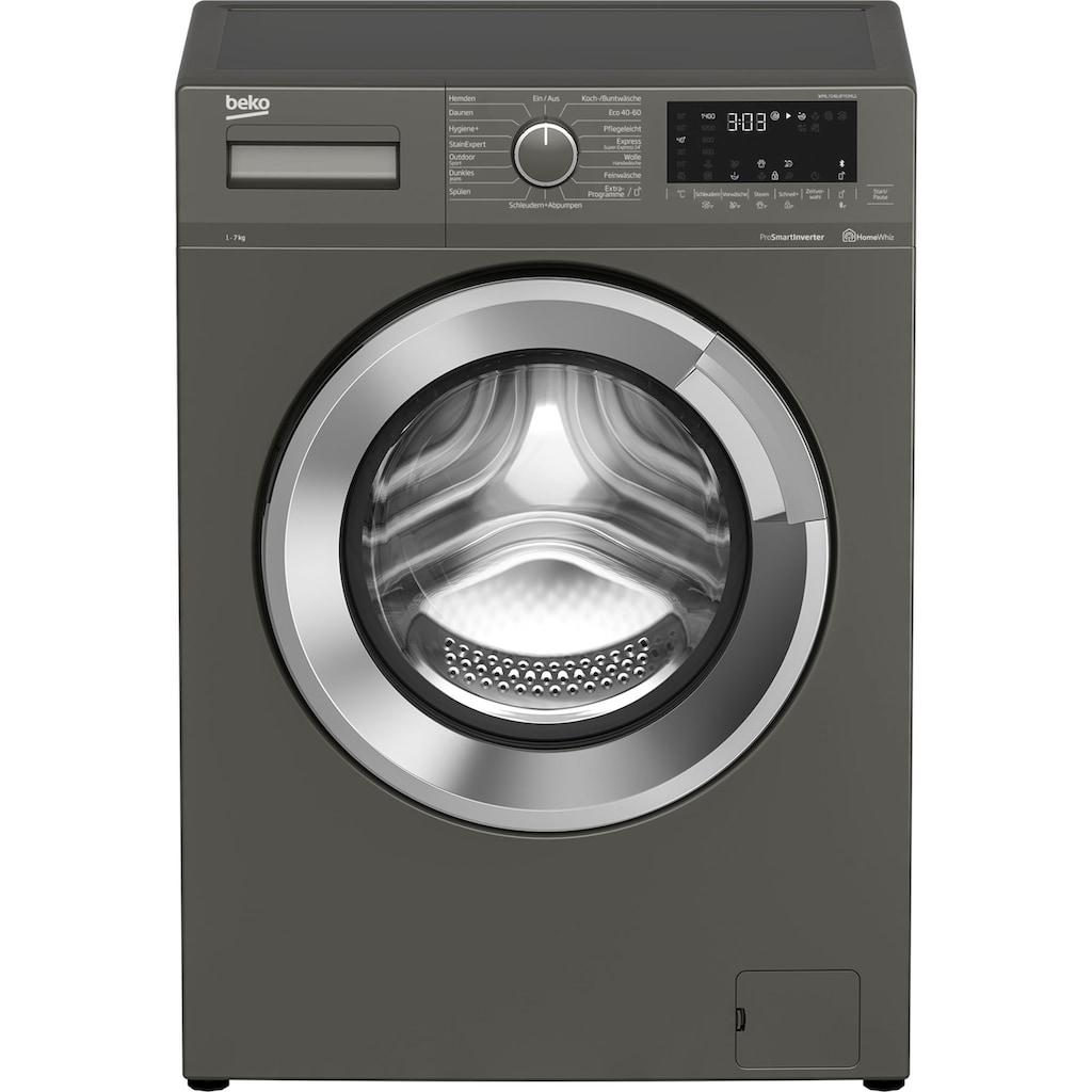 BEKO Waschmaschine »WML71463PTEMG1«, WML71463PTEMG1, 7 kg, 1400 U/min