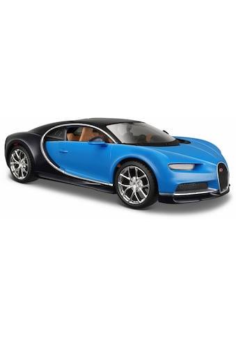 Maisto® Sammlerauto »Bugatti Chiron, 1:24, blau«, 1:24, aus Metallspritzguss kaufen