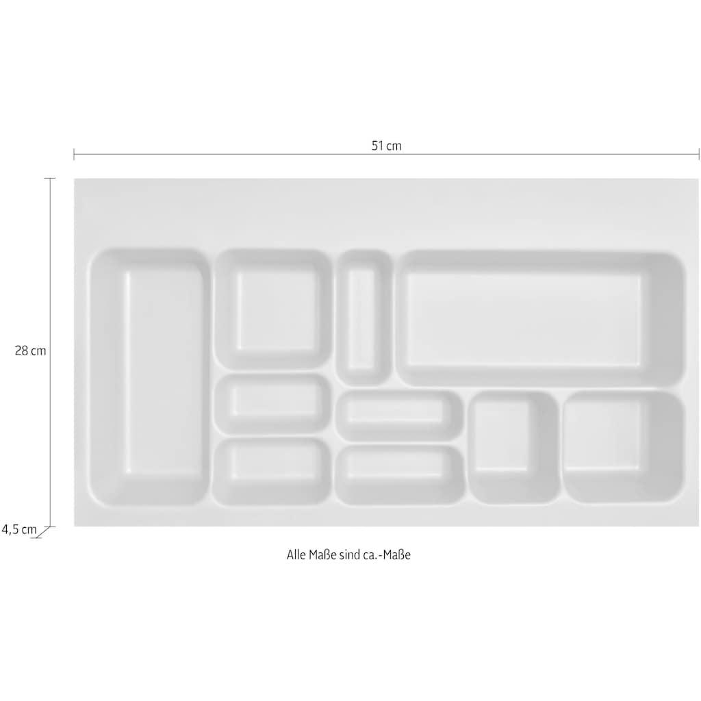MARLIN Schubladeneinsatz, für Schubkästen in Breite 60 cm, für Badschränke