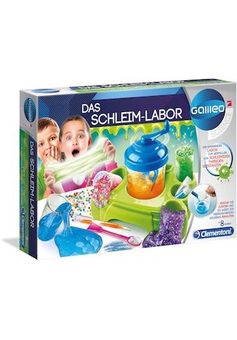 Clementoni® Experimentierkasten »Galileo - Das Schleim-Labor«, Made in Europe kaufen