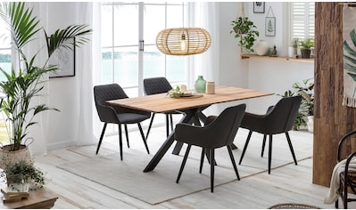 Home affaire Esstisch »Montreal«, mit eleganter Schweizer Kante kaufen