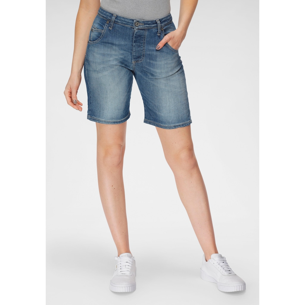 Please Jeans Jeansshorts »D 85B«, im Used-Look
