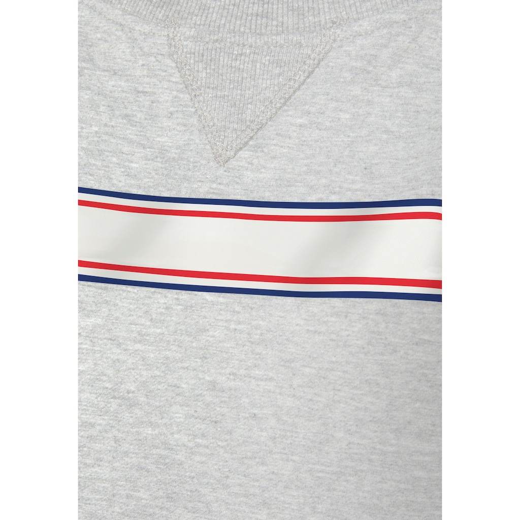 H.I.S Sweatshirt, mit gestreiftem Tape