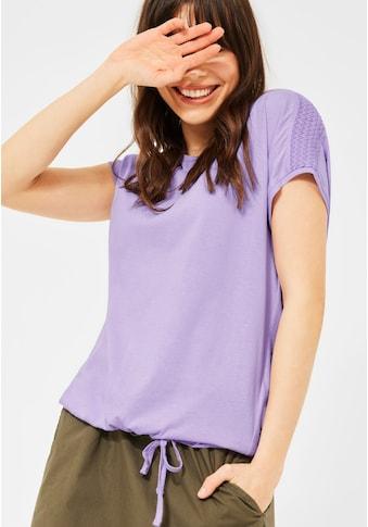 Cecil V-Shirt, mit Tunnelzug am Saum kaufen