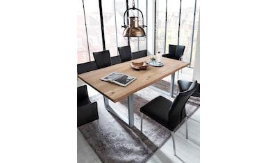 SIT Esstisch »Tops&Tables«, mit Tischplatte aus Wildeiche, mit Baumkante wie... kaufen