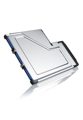 CSL 3 Port USB 3.0 ExpressCard PCMCIA Schnittstellenkarte 54mm »3x USB 3.0 Buchse Typ A« kaufen