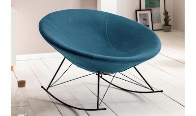 SalesFever Schaukelsessel, mit schalenförmigem Sitz kaufen