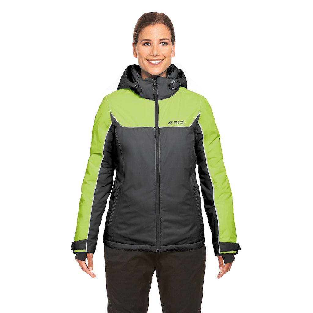 Maier Sports Skijacke »Persea«, Für Ski- und Wintersport