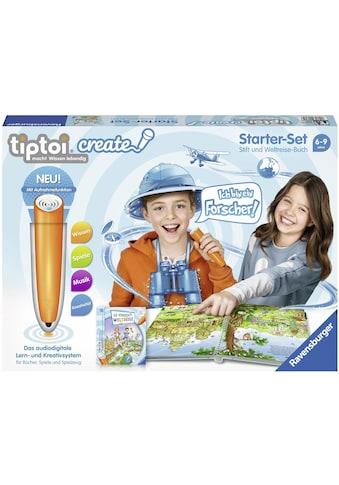 Ravensburger Spiel »tiptoi® Starter-Set: Die verrückte Weltreise«, mit CREATE Stift;... kaufen