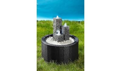 Acquaarte/Ubbink Brunnenumrandung »DecoWall Wicker 1« kaufen