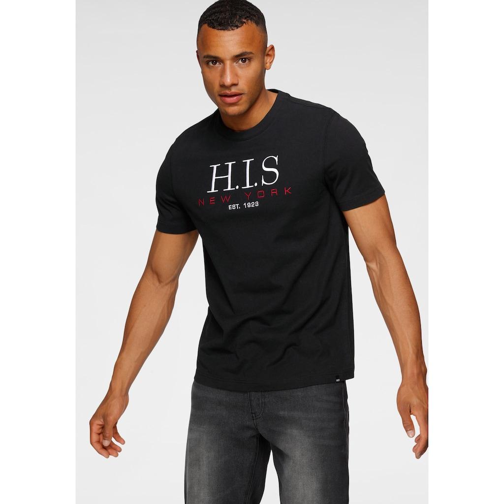 H.I.S Rundhalsshirt, mit aufwendiger Stickerei
